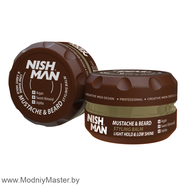Бальзам-стайлинг для бороды и усов NISHMAN STYLING BALM 100ml